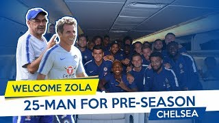 25 MAN FOR CHELSEA PRE SEASON