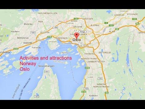 Norway Oslo's attractions Norway Oslo største attraksjoner