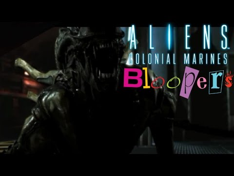 Jason Bourne!(Aliens Colonial Marines Bloopers)