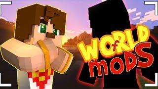 İNANILMAZ YARATIKLAR ! (Minecraft - World of Mods Canlı Yayın)
