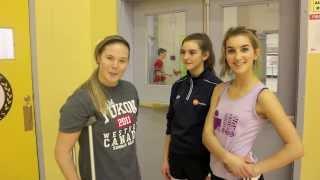 Repeat youtube video F.H. Collins Sport School Visit - Arctics Athletes train with Stephanie Dixon