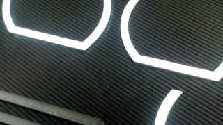 Ангельские глазки для Приоры. Ангельские глазки Laser Lights.(Ангельские глазки (LED-модули) Laser Lights для Приоры. Продаем комплекты для установки в заводские фары