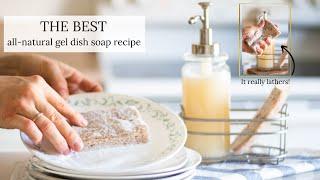 Natural Gel Dish S๐ap Recipe