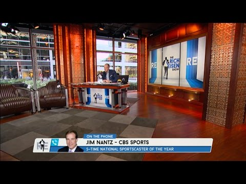 CBS Sports Broadcaster Jim Nantz Talks Arnold Palmer, TNF & More - 9/29/16