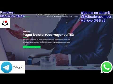 Digibyte we love DGB on kamoney brasil pague suas contas com DGB