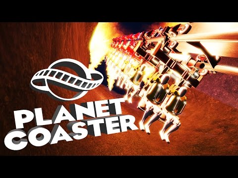 Planet Coaster Alpha 2 Gameplay - Hell Coaster! - Let's Play Planet Coaster