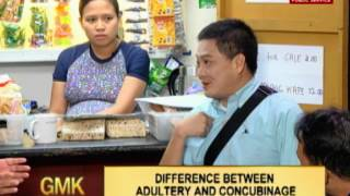 Difference between Adultery and Concubinage | Ikonsulta Mo