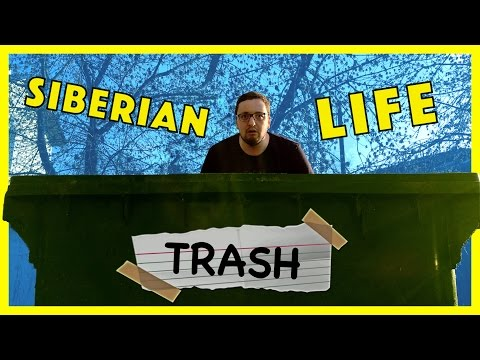 MY SIBERIAN TRASH LIFE IN TOMSK, RUSSIA [RUS SUB]