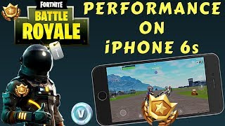 Fortnite Mobile - iOS Beta Performance On The Lowest Device...iPhone 6s