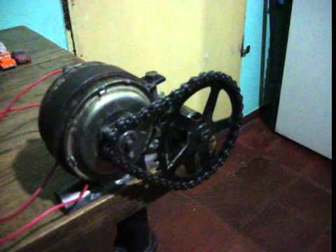 Bicicleta Eelectrica Super Homemade Electric Bike Parte 1