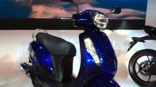 2016 Auto Expo_ Suzuki Gixxer SF, Gixxer and Access first look
