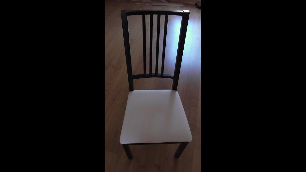 Silla ikea el caf ocio taburete silla de saln con equipo for Sillas de madera ikea
