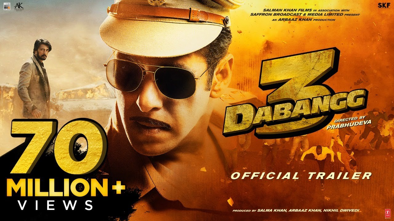 Chulbul Pandey Salman Khan's Dabangg 3 (2019) Hindi Movie Trailer