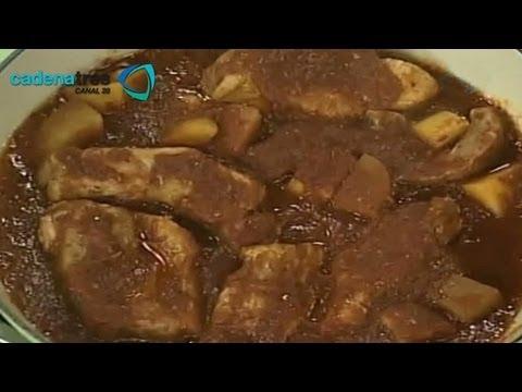C mo preparar carne de cerdo en salsa de guajillo - Como cocinar las setas lengua de vaca ...