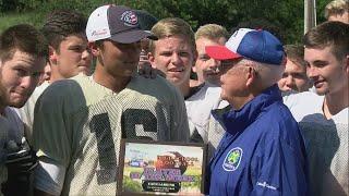 David Crockett Pioneer quarterback Cade Larkins named the TV-11 Player of the Week
