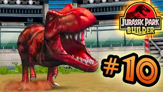 Jurassic Park Builder: JURASSIC Tournament: Part 10 T.rexs Galore! HD