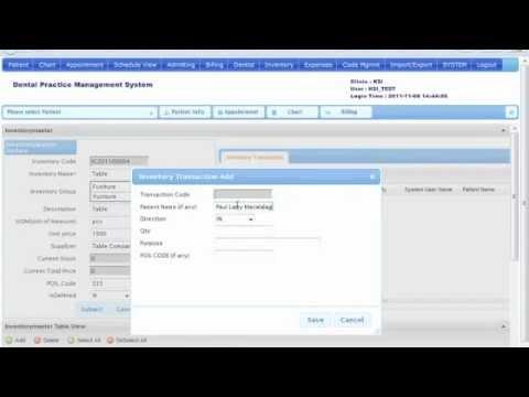 K&SI Web-based Dental Practice Management System