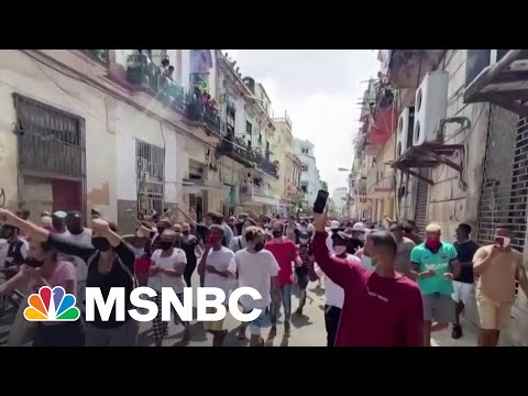 Robles: 'The Government [Will] Succeed In Putting A Stop To' Cuba Protests