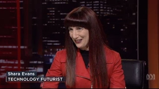 Futurist Shara Evans | ABC Lateline Panel Are drones out of control