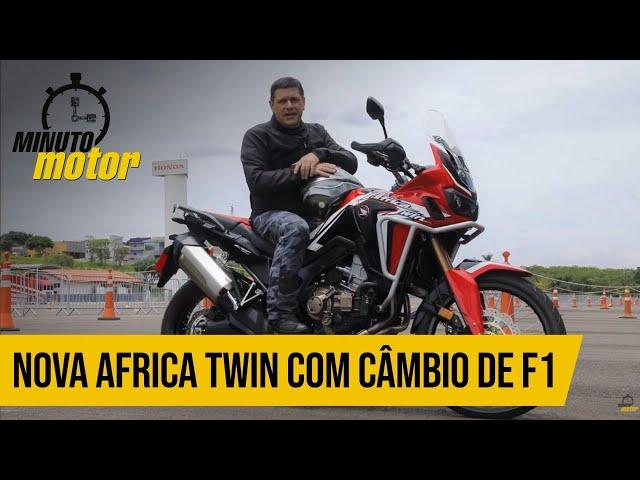 Nova Africa Twin com câmbio de F1