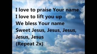 Sweet Jesus Lyrics by J Moss