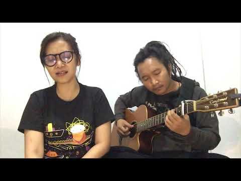 GIMBAL Tapi MELOW!!! Cinta Dari Jauh - Cassandra ( Cover ) By Andrew Prasetyo Feat Adhisty Anindhita