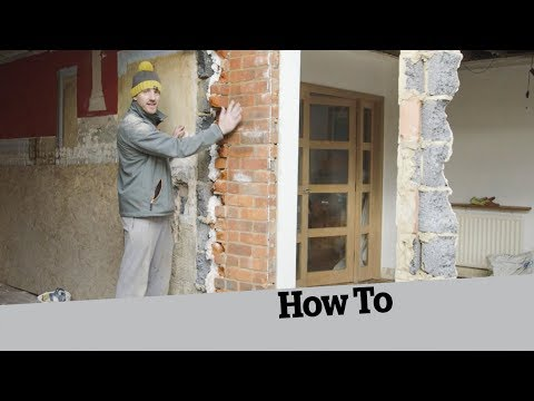 How to Demolish a Wall with a Window in it: How to Build and Extension (7)