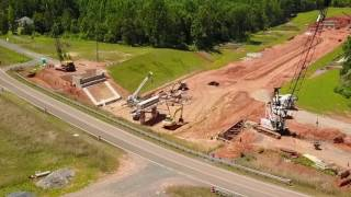 64 ByPass Update...6/26/17...Bridge Construction
