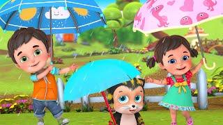 Aye bristi jhepe | Barish aayi | Bristi Pore Tapur Tupur | Bengali Rhymes by Jugnu kids