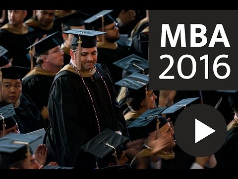 2016 Texas MBA Commencement