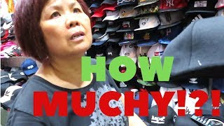 Hong Kong Fake Market Tour and Bargaining!
