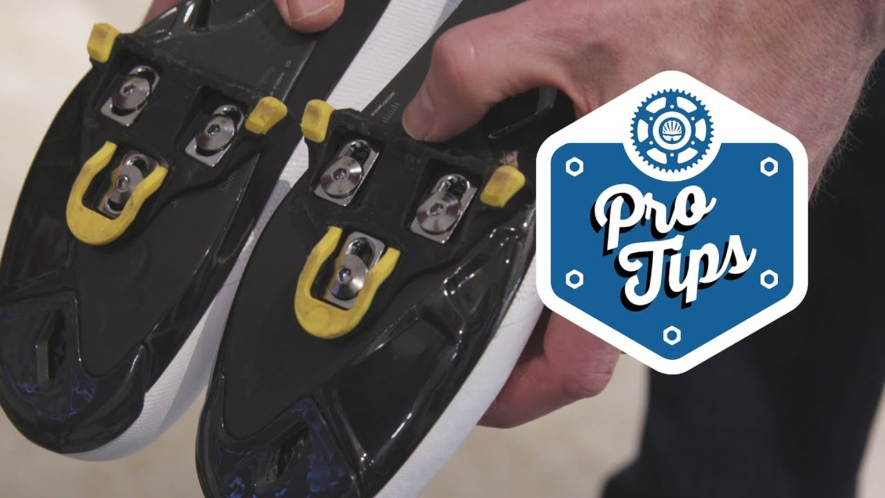 7f33b7b2951 The Easy Way To Set Up Road Cycling Cleats - YouTube