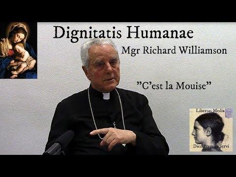 """""""C'est la Mouise"""" Une Déconstruction de Dignitatis Humanae - Par Mgr Williamson"""