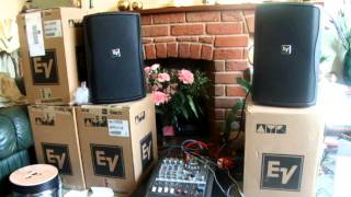 ADM Entertainments - Sound Install - EV ZX1i 90 Speakers