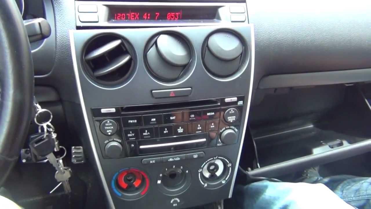 GTA Car Kits  Mazda 6 2006, 2007, 2008 install of iPhone