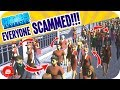 Mayor SCAMMED Everyone, They FELL FOR IT!! (Cities: Skylines One Square Size Park)