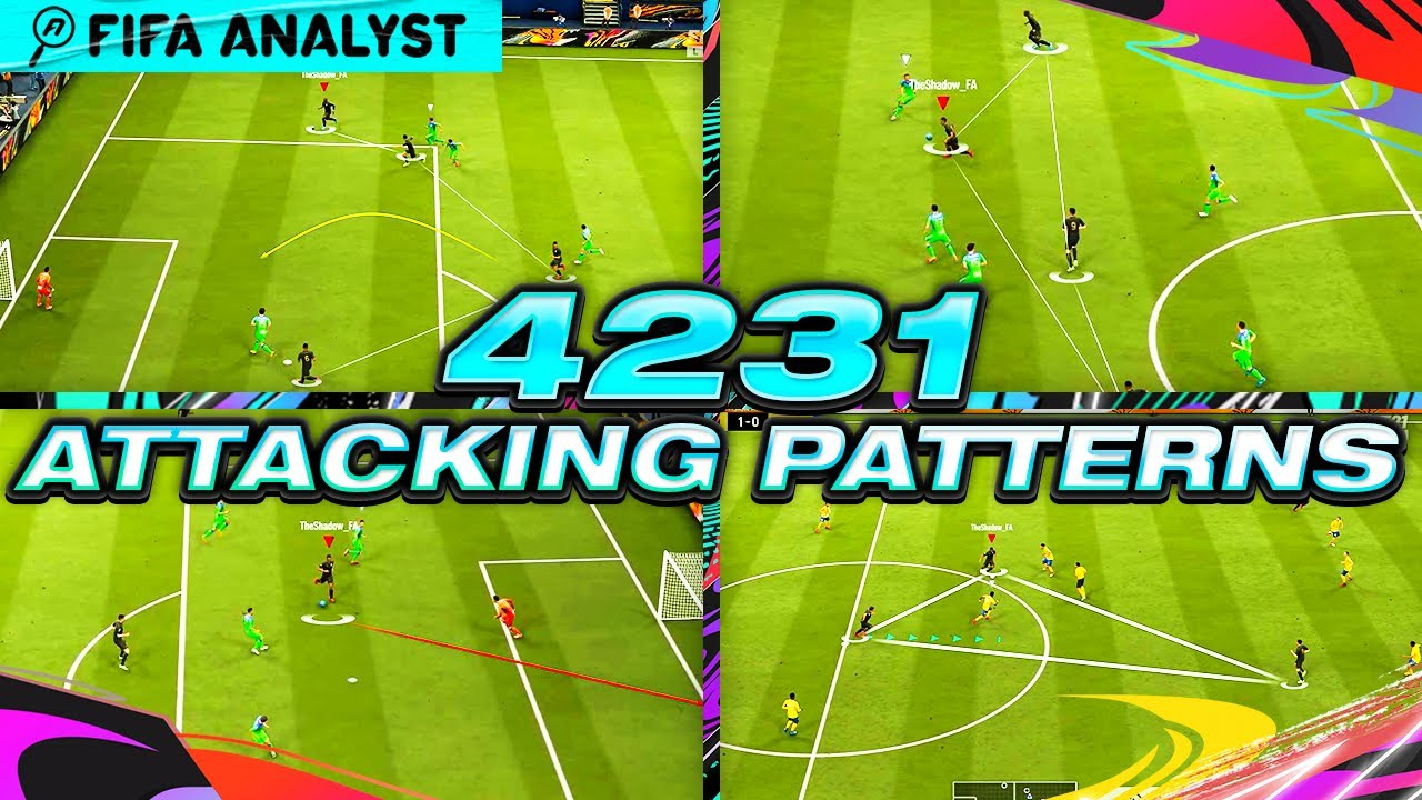 FIFA 21 4231 ATTACKING PATTERNS TUTORIAL | FUT 21 META | FIFA 21 TUTORIALS | HOW TO SCORE