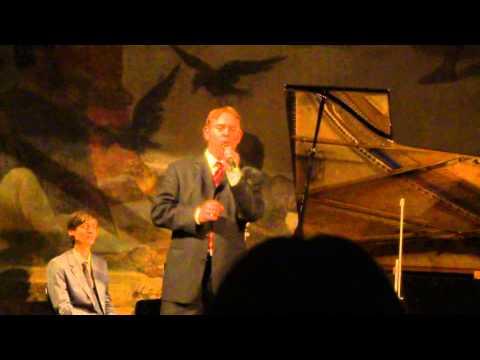 "Liederabend Sebastian Holecek ""Figaro trifft Fidelio"" Volksoper Wien 12.11.2014 Teil 4"