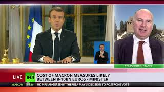 Will new measures announced by Macron save his presidency?