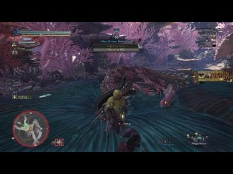 Monster Hunter Worldslaying Legiana And Odagaon Switch Axe