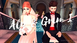 Avakin Life | Wedding Video of Aly & Grim Stormborn