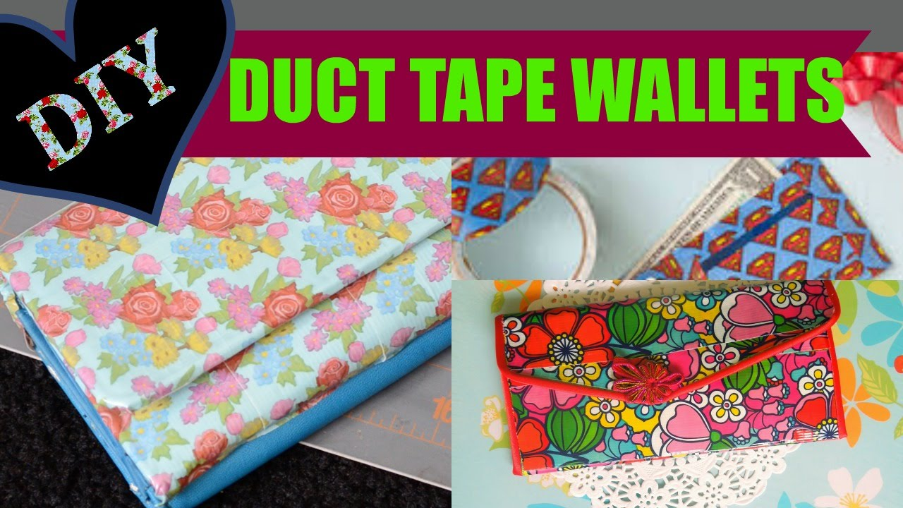 Diy Duct Tape Wallet Using Duck Tape