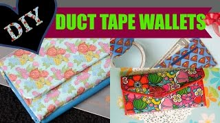 Diy Duct Tape Wallet - Using Duck Tape