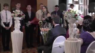 Инга Кокачева 13 лет Свадьба саксофон музыка из к/ф Титаник