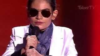 После песни слепой девочки у меня покатились слезы