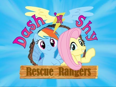[Pony Theme] Chip 'n Dale Rescue Rangers (Rainbow Dash and Fluttershy)