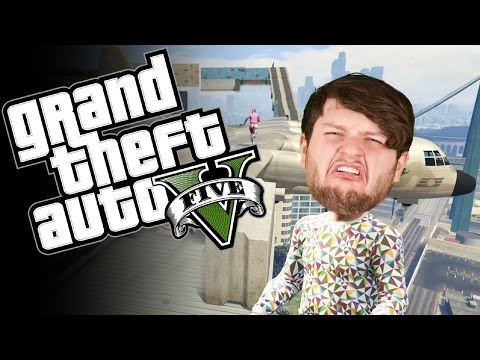 GTA 5 PC Online Funny Moments - DA PLANE...