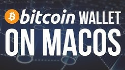 Bitcoin - install bitcoin core wallet on macOS
