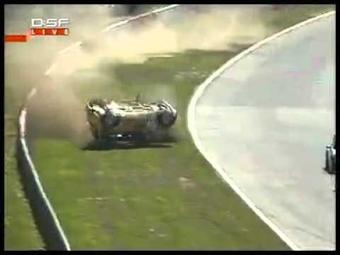 2006 MINI Nurburgring - Markus Winkelhock Flips