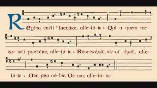 Regina Coeli - Canto Gregoriano Mariano